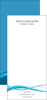 faire flyers bleu couleurs froides fond bleu MIF58166
