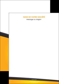 personnaliser maquette affiche jaune fond jaune colore MLGI58282