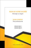 personnaliser modele de carte de visite jaune fond jaune colore MLGI58290