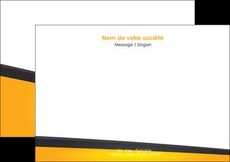 creer modele en ligne flyers jaune fond jaune colore MIF58304