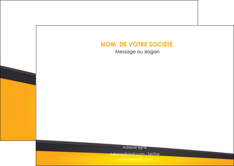 exemple flyers jaune fond jaune colore MIF58308