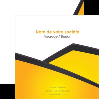 faire modele a imprimer flyers jaune fond jaune colore MLGI58312