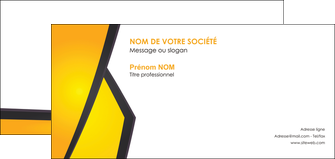 imprimer carte de correspondance jaune fond jaune colore MIF58318