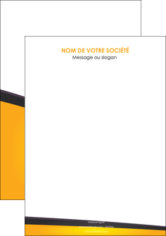 modele flyers jaune fond jaune colore MLGI58326
