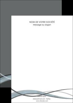 maquette en ligne a personnaliser flyers gris fond gris vecteur MIF58342
