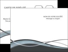 Impression carte de voeux impression  Carte commerciale de fidélité carte-de-voeux-impression Carte de visite Double - Portrait