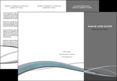 maquette en ligne a personnaliser depliant 3 volets  6 pages  gris fond gris vecteur MIF58368