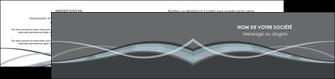 modele en ligne depliant 2 volets  4 pages  gris fond gris vecteur MIF58378