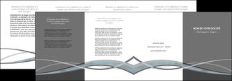 personnaliser modele de depliant 4 volets  8 pages  gris fond gris vecteur MIF58384