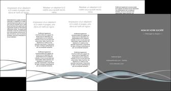 exemple depliant 4 volets  8 pages  gris fond gris vecteur MIF58388