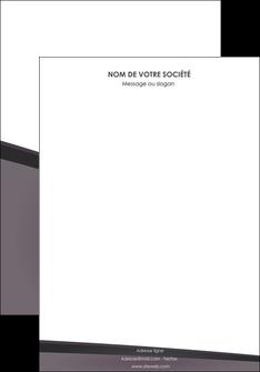 personnaliser maquette affiche violet noir courbes MIF58398
