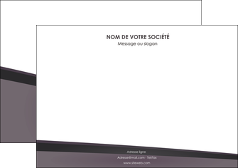 imprimer affiche violet noir courbes MIF58412