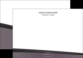 maquette en ligne a personnaliser affiche violet noir courbes MIF58416