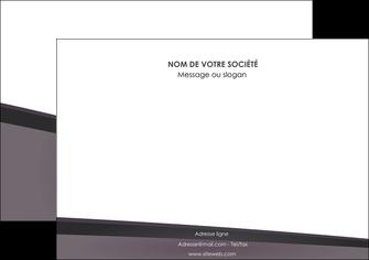 creer modele en ligne affiche violet noir courbes MIF58418