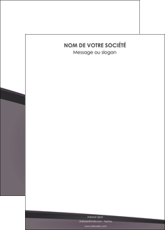 modele affiche violet noir courbes MIF58438