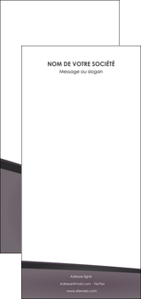 modele flyers violet noir courbes MIF58444