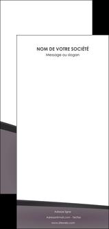 modele flyers violet noir courbes MLGI58444