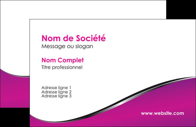 personnaliser maquette carte de visite violet fond violet colore MLGI58628
