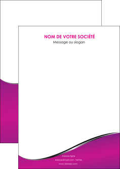 creation graphique en ligne flyers violet fond violet colore MIS58632