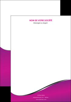 personnaliser modele de affiche violet fond violet colore MLGI58634