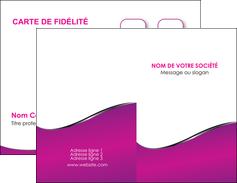 imprimer carte de visite violet fond violet colore MLGI58638
