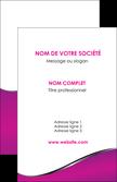 realiser carte de visite violet fond violet colore MLGI58639