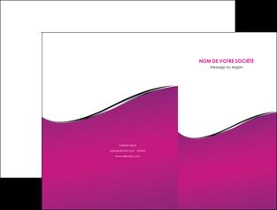 exemple pochette a rabat violet fond violet colore MLGI58642