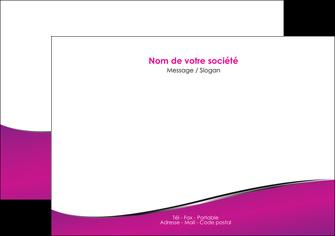 modele flyers violet fond violet colore MIF58652