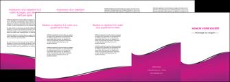 creation graphique en ligne depliant 4 volets  8 pages  violet fond violet colore MLIG58672