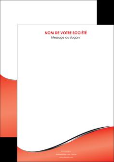 personnaliser maquette affiche rouge rouille colore MLIG58692