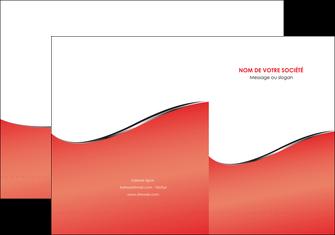 modele en ligne pochette a rabat rouge rouille colore MLIG58704