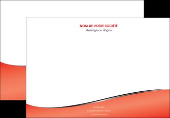 personnaliser modele de affiche rouge rouille colore MLIG58712