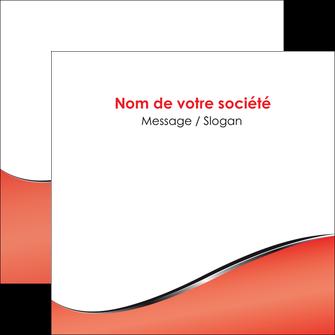 creation graphique en ligne flyers rouge rouille colore MLIG58724