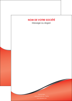 exemple affiche rouge rouille colore MIF58734