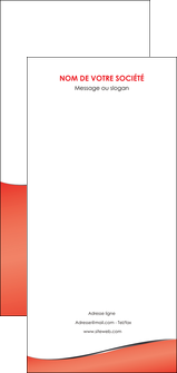 imprimerie flyers rouge rouille colore MLIG58740