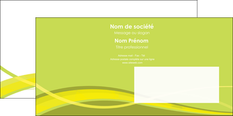 maquette en ligne a personnaliser enveloppe espaces verts vert vert pastel fond vert MLGI58750