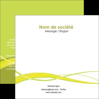 modele en ligne flyers espaces verts vert vert pastel fond vert MIF58754