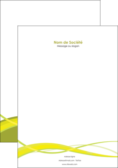 personnaliser modele de tete de lettre espaces verts vert vert pastel fond vert MLGI58756