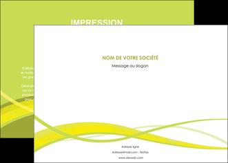 personnaliser maquette affiche espaces verts vert vert pastel fond vert MLGI58768