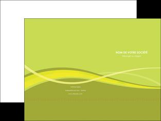 personnaliser modele de pochette a rabat espaces verts vert vert pastel fond vert MIF58774