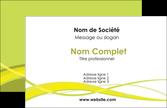 exemple carte de visite espaces verts vert vert pastel fond vert MLGI58777