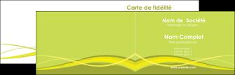 Commander carte de visite Espaces verts Carte commerciale de fidélité carte-de-visite Carte de visite Double - Paysage