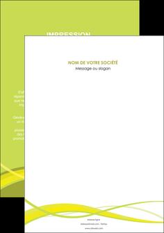modele en ligne affiche espaces verts vert vert pastel fond vert MIF58784