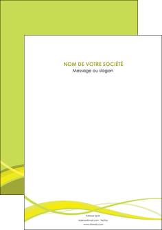 personnaliser maquette affiche espaces verts vert vert pastel fond vert MIF58786