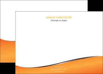 impression affiche orange gris courbes MLIG58874