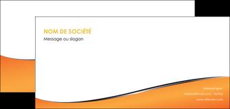 imprimerie flyers orange gris courbes MLIG58890