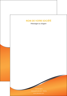 creer modele en ligne affiche orange gris courbes MLIG58896