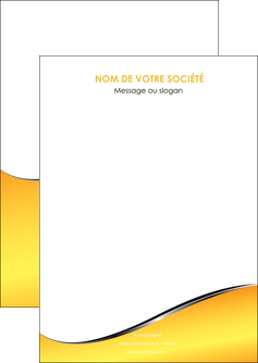 exemple flyers jaune fond jaune colore MIF58910