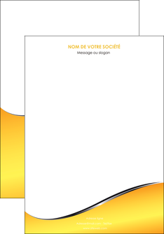 creation graphique en ligne affiche jaune fond jaune colore MIF58912