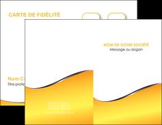 exemple carte de visite jaune fond jaune colore MLIG58916
